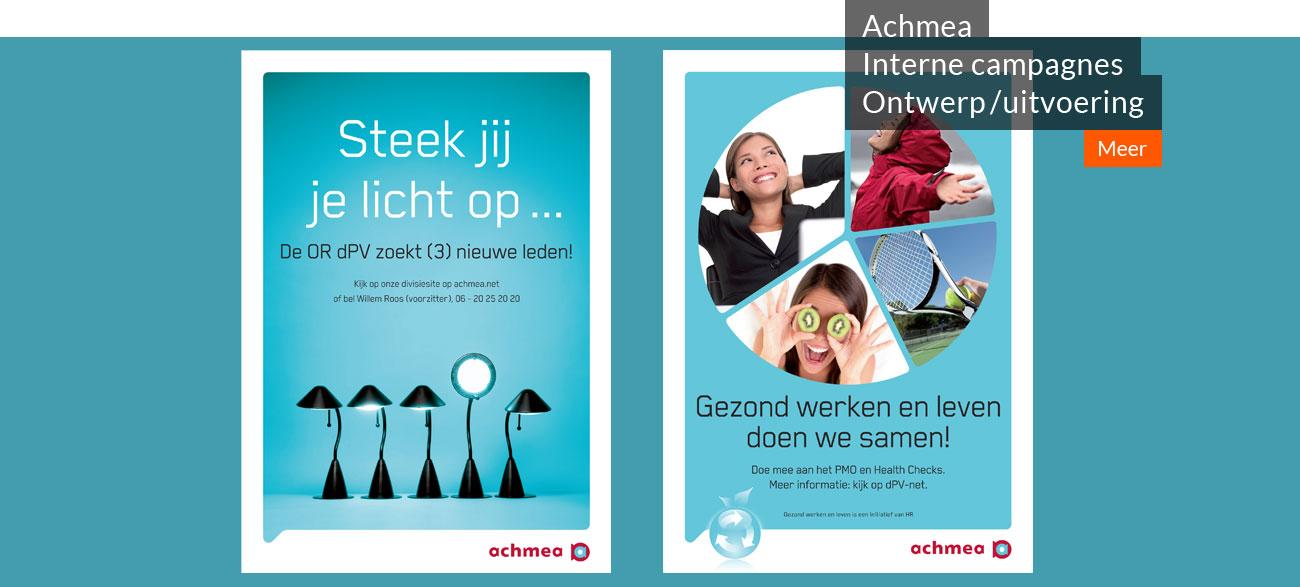 Achmea Interne campagnes